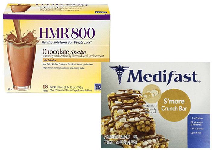 HMR 800 Vs Medifast - TheDietPlan.net
